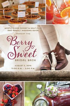 Berry Sweet Bridal Show on August 3, 2014