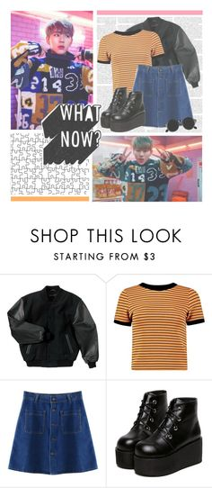 """""""I Am You, You Are Me--- Zico"""" by alicejean123 ❤ liked on Polyvore featuring Chicnova Fashion, Retrò, women's clothing, women, female, woman, misses and juniors"""