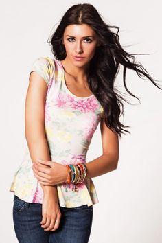 Forever New Jessie Peplum T-Shirt, Üst Giyim Modelleri