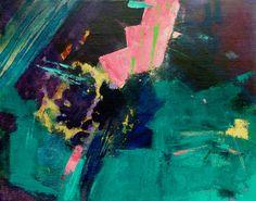 "Saatchi Art Artist June Forster; Painting, ""Mineral Flow 1"" #art"
