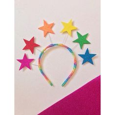 Organizing Hair Accessories, Party Accessories, Felt Headband, Baby Headbands, Birthday Party Desserts, Rainbow Parties, Christmas Card Crafts, Rainbow Star, Diy And Crafts