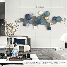 Metal Wall Decor, Metal Wall Art, Living Room Background, Metal Clock, Iron Wall, Living Room Art, Cool Walls, Wall Art Designs, Scandinavian Style