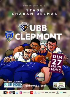 UBB - Clermont, dimanche 27 mars, 16h15