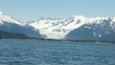 Glacier from the skiff