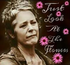 Just look at the flowers Lizzie Walking Dead Season 4, The Walking Dead, Seasons, Flowers, Seasons Of The Year, Walking Dead, Royal Icing Flowers, Flower, Florals