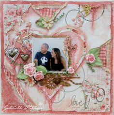 Love   Mixed Media Video Tutorial - by Gabrielle Pollacco
