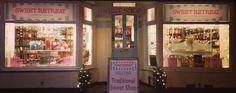 Sweet Retreat Sweet Shop Christmas Window