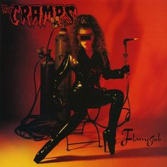 The Cramps - Flamejob on Numbered Limited Edition 200g LP