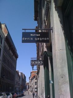 Boutique Denis Gagnon, Vieux-Monteal - Old Montreal Information Center, Tourist Information, Old Montreal, Gala Dresses, Tourism, Designers, Boards, Fashion Outfits, Boutique