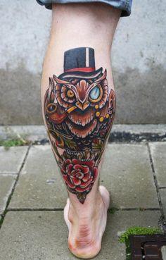 gentleman owl by ~azachariades