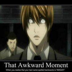 XD so funny. - Light Yagami from Death Note Death Note Cosplay, Death Note Funny, L Death Note, Shinigami, Blue Exorcist, Amane Misa, Death Note Fanart, Manhwa, Funny Anime Pics