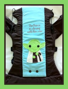 Best Star Wars baby carrier ever! #babywearing