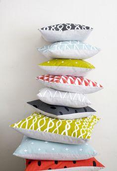 Cotton & Flax pillows