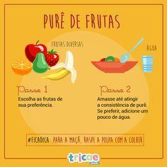 Papinha saudável: dicas + receitas