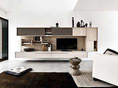 Mueble modular de pared composable C_DAY K14 Colección C_DAY K14 by CESAR ARREDAMENTI   diseño Gian Vittorio Plazzogna