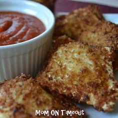 Fried Raviolis Appetizer