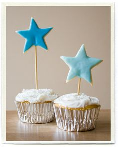 star cookie toppers