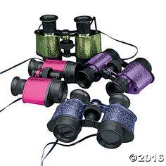 Shimmering Binoculars