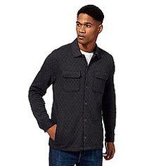 John Rocha - Big and tall dark grey quilted shirt Debenhams, Dark Grey, Dan, Shirt Dress, Mens Tops, Jackets, Shirts, Shopping, Clothes