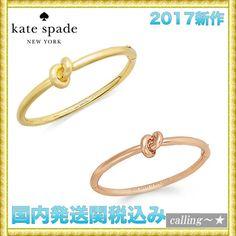 セレブ愛用者多数☆kate spade new york☆Hinge Bangle Bracelet