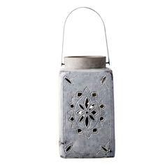 handmade ceramic lantern from Bloomingville. www.bloomingville.com