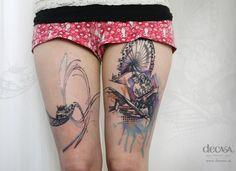 Carola Deutsch, DECASA Kreativstudio Tattoo | Graz, Austria