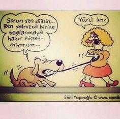 charming life pattern: #karikatür #erdilyaşaroğlu yürü len :)