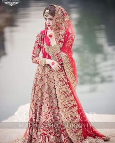 The Effective Pictures We Offer You About unique Bridal Outfit A quality picture can tell you many things. You can find the most beautiful pictures that can be presented to you about Bridal Outfit whi Simple Pakistani Dresses, Bridal Lehenga Choli, Pakistani Dress Design, Pakistani Wedding Dresses, Wedding Lehanga, Nikkah Dress, Shadi Dresses, Wedding Dresses For Girls, Girls Dresses