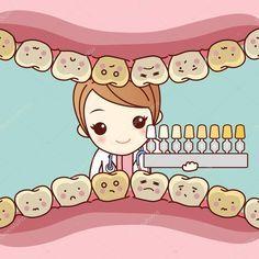 Downloaden - Tandarts van de vrouw de tandheelkundige tabel gebruikt — Stockillustratie #127696088