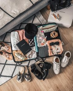 the most effective method to choose the best suitcase for your luggage Suitcase Packing, Travel Packing, Vacation Packing, Travel Hacks, Travel Goals, Travel Style, King Travel, King Outfit, What In My Bag