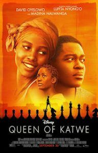Queen of Katwe - such an inspirational movie! It definitely made me smile! :)