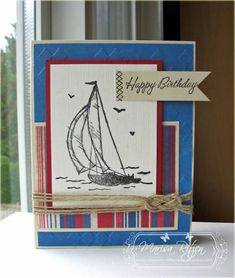 Sail Away... by whiterockmama - Cards and Paper Crafts at Splitcoaststampers