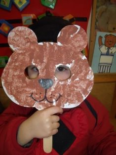 De belevenissen in het 1ste kleuterklasje Toddler Art, Toddler Crafts, Preschool Activities, Crafts For Kids, Bear Crafts Preschool, Daycare Crafts, Teddy Bear Crafts, Fairy Tale Crafts, Goldilocks And The Three Bears