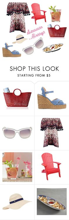 """""""Relaxing"""" by bootycapo ❤ liked on Polyvore featuring interior, interiors, interior design, home, home decor, interior decorating, Mark & Graham, Castañer, Moschino and Boohoo"""