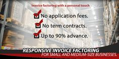 k1 Factoring will certainly look at the creditworthiness of your customers and can money within as low as 24 hour.
