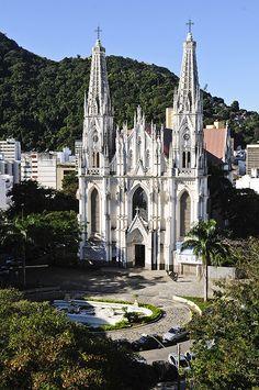 Catedral Metropolitana de Vitoria - Vitória - Espírito Santo, Brasil