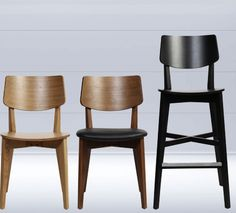 Commercial Furniture, Phoenix, Bar Stools, Solid Wood, Dining Chairs, Indoor, Range, Modern, Design