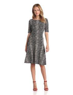 Jones New York Women's Banded Swing Dress #workdresses