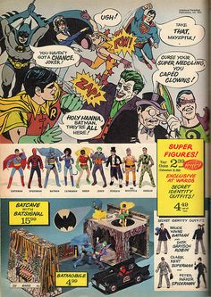 Mego Super Heroes Ad by Drive-In Mike, via Flickr