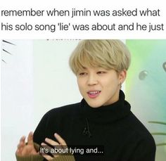Yup don't know how anyone would be able to figure that one out without little mochi Jimin telling us