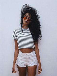 Listras e shorts