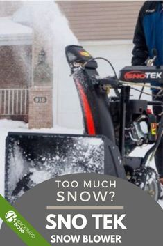 You can do only so much snow shoveling in one life. Eventually, it's time to invest in a snow blower. The Sno Tek 20-Inch snow blower is made by Ariens, a leading brand in the industry. Find out if this is the right blower for your snow clearance needs. #backyardboss #bestsnowblowers #snotek #ariens #snowblower #snowremoval Snow Removal Machine, Shoveling Snow, Gravel Driveway, Winter Storm, Electrical Outlets, Backyard, Life, Patio