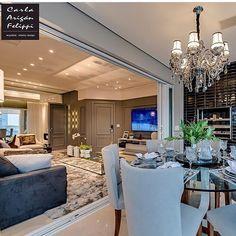 Paremos tudo e babemos por este projeto da @carlafelippi_arquiteta!!  Tem tanta coisa inspiradora, que os olhos não dão conta! Sensacional!!! ✨✨✨✨✨ #inspirandoepirando #decor #decoration #decorating #design #designer #interiordesign #instadesign #home #instadecor #instagood #instahome #architecture #architecturelovers #love #homedecor #homesweethome #house #classic #luxury #photooftheday #follow #archidaily  #interior #inspiration #living #balcony #light #amazing #beautiful