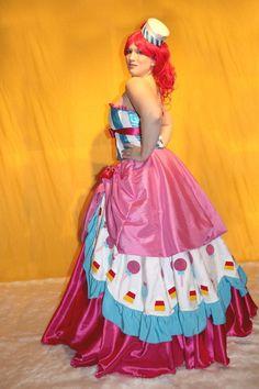 Pinkie Pie Galloping Gala Dress by ~Flitzichen