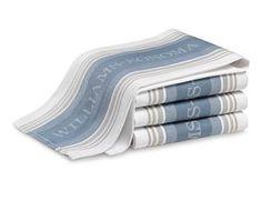 Williams-Sonoma Seasonal Contrast Logo Towels, Set of 4 #Williams-Sonoma