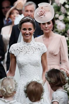 See Kate and Pippa Middleton's Sweetest Wedding Moments, Side by Side