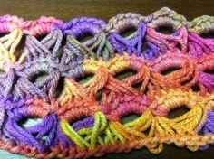 broomstick crochet patterns free | BROOMSTICK CROCHET STITCH | Crochet For Beginners