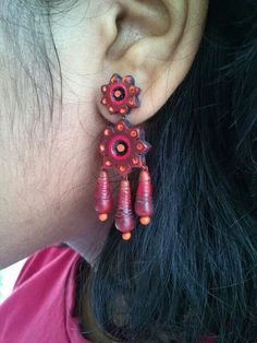 terracotta jewellery,elegant design, indian jewellery,Google serch result,terracotta earring