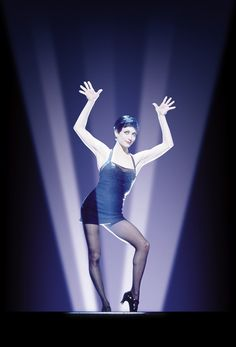 "Bebe Neuwirth in ""Chicago"" (with Jazz hands)...my inspiration for my DREAM ROLE! Velma Kelly! ;)"