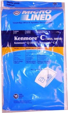 cool Home Care Products Kenmore 5055/50558 Micro Lined Paper Vacuum Bag, 10-Pack